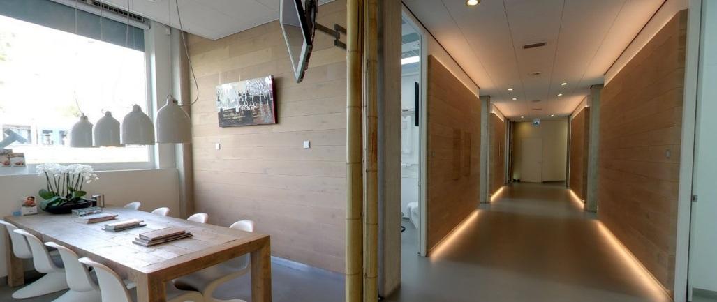Wachtruimte tandartspraktijk Amsterdam
